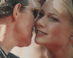 Gwyneth Paltrow and Father